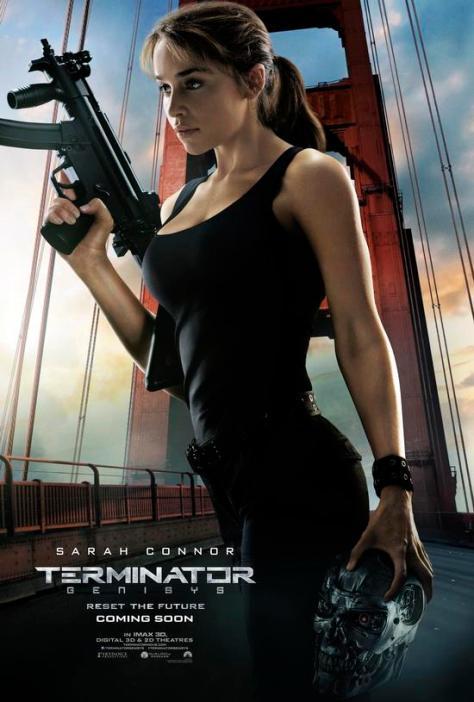 Terminator: Genisys, Emilia Clarke