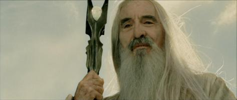 Saruman, Christopher Lee, The Lord of the Rings