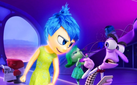 Joy, Fear, Amy Poehler, Bill Hader, Inside Out