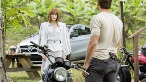 Chris Pratt, Bryce Dallas Howard, Jurassic World