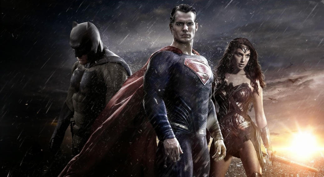 Batman, Superman, Wonder Woman, Batman vs Superman: Dawn of Justice