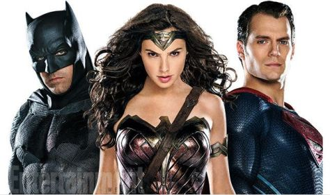 Batman, Superman,Wonder Woman, Gal Gadot, Henry Cavill, Ben Affleck