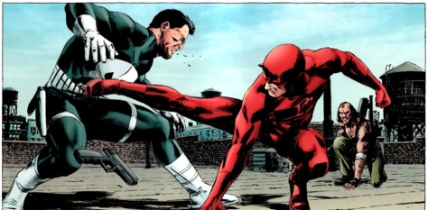 Daredevil, Punisher