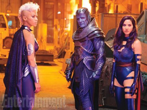 Storm, Apocalypse, Psylocke, Olivia Munn, Alexandra Shipp, Oscar Isaac, X-Men: Apocalypse