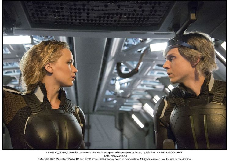 X-Men: Apocalypse, Jennifer Lawrence, Mystique