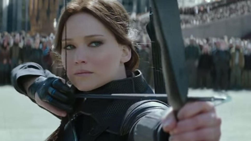 Jennifer Lawrence, Katniss Everdeen, The Hunger Games: Mockingjay Part Two