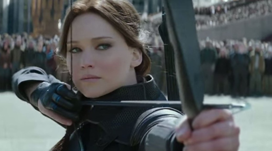 Jennifer Lawrence, Katniss Everdeen, The Hunger Games: Mockingjay Part Two