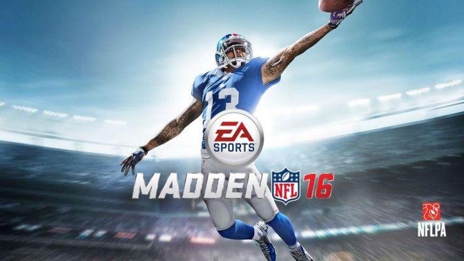 Odell Beckham Jr., New York Giants, Madden NFL 16