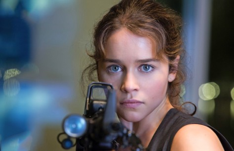 Emilia Clarke, Sarah Connor, Terminator: Genisys