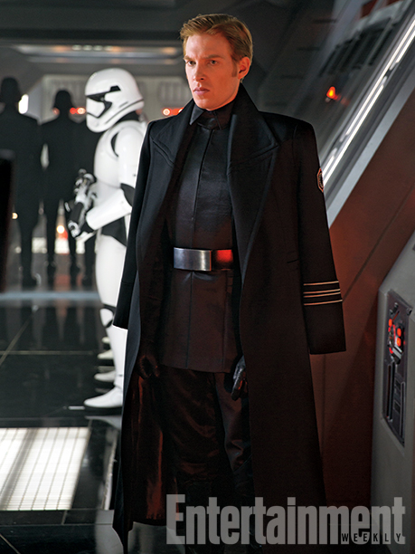 Star Wars Episode VII, General Nux, Domnhall Gleeson
