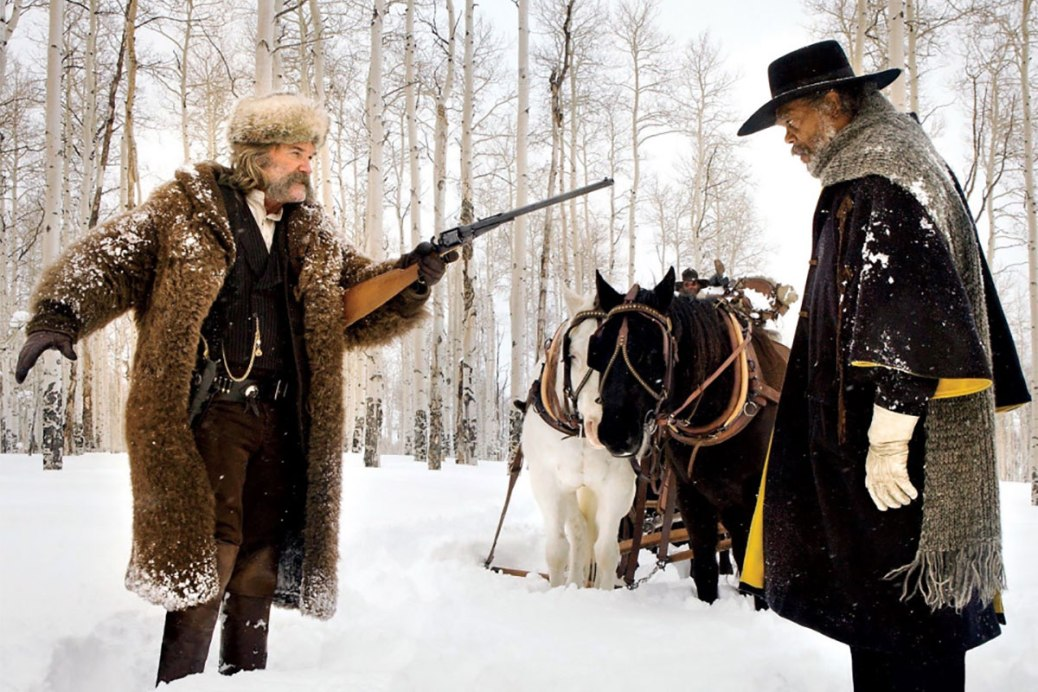 The Hateful Eight, Kurt Russell, Samuel L. Jackson