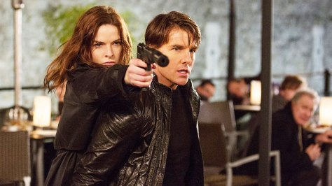 Tom Cruise, Rebecca Forrester, Mission Impossible Rogue Nation