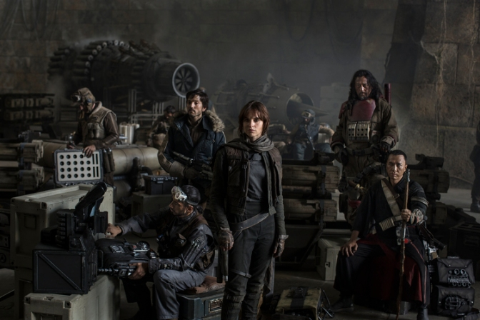 Star Wars Rogue One, Star Wars Anthology Rogue One, Felicity Jones, Donnie Yen