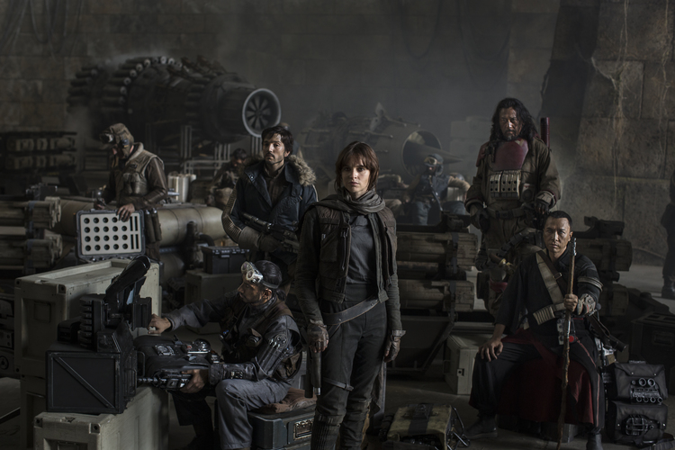 Star Wars Rogue One, Star Wars Anthology Rogue One, Felicity Jones, Donnie Yen