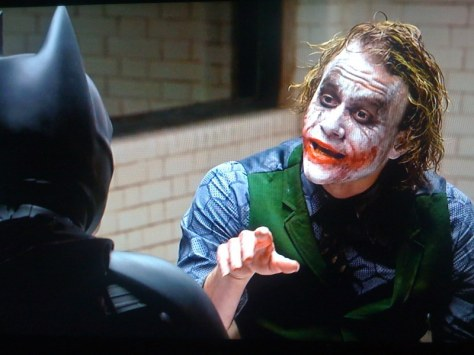 Joker, Heath Ledger, Batman, Christian Bale, The Dark Knight
