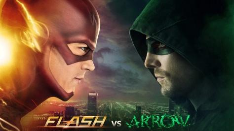 Flash, Arrow, Grant Gustin, Stephen Amell