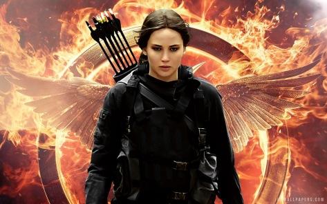 Jennifer Lawrence, The Hunger Games Mockingjay Part 2, Katniss Everdeen