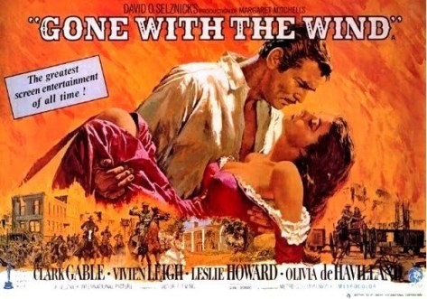 Gone With the Wind, Rhett Butler, Vivien Leigh