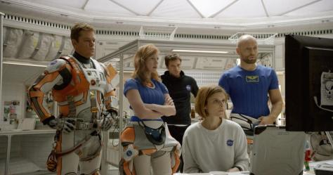 The Martian, Matt Damon, Kate Mara, Jessica Chastain, Sebastian Stan
