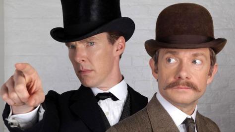 Benedict Cumberbatch, Sherlock, Sherlock Holmes, Sherlock Holmes Christmas Special, Martin Freeman, Dr. John Watson, BBC