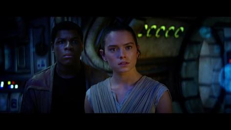 Star Wars Episode VII, Daisy Ridley, John Boyega, Finn, Rey