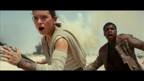 Star Wars Episode VII, Finn, Rey, Daisy Ridley, John Boyega