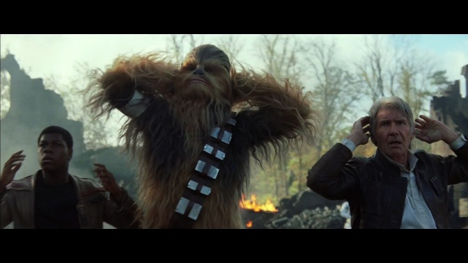 Star Wars Episode VII, Chewbacca, Han Solo, Peter Mayhew, Harrison Ford