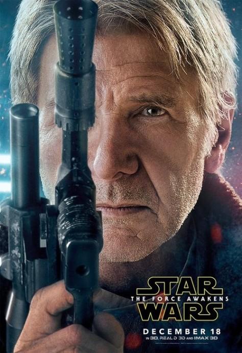 Harrison Ford, Han Solo, Star Wars, Star Wars Episode VII