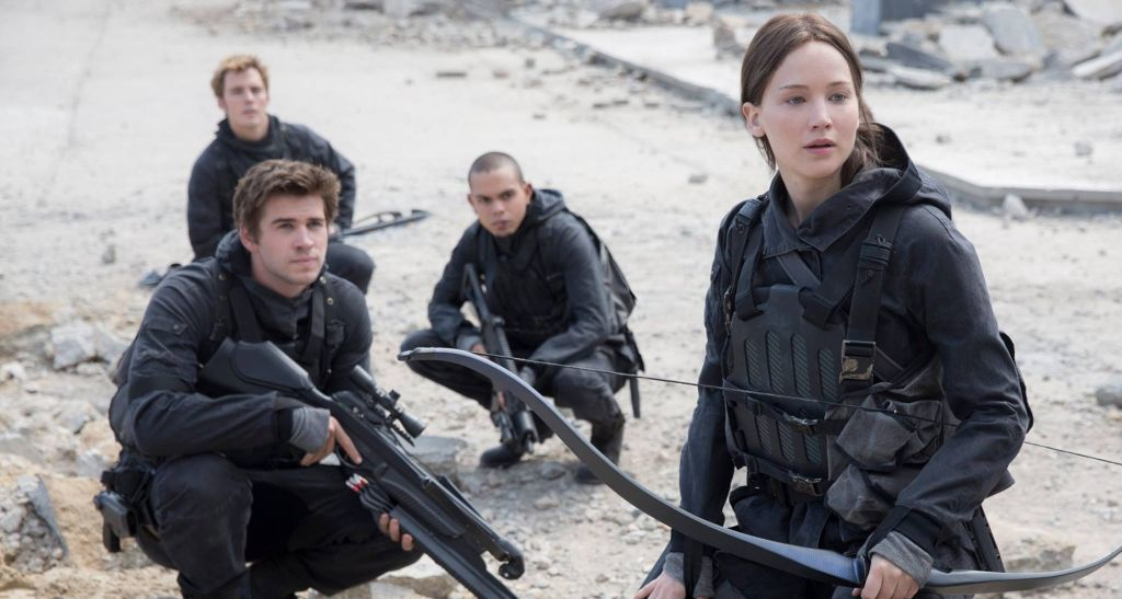 Jennifer Lawrence, Katniss Everdeen, The Hunger Games, The Hunger Games: Mockingjay Pt. 2