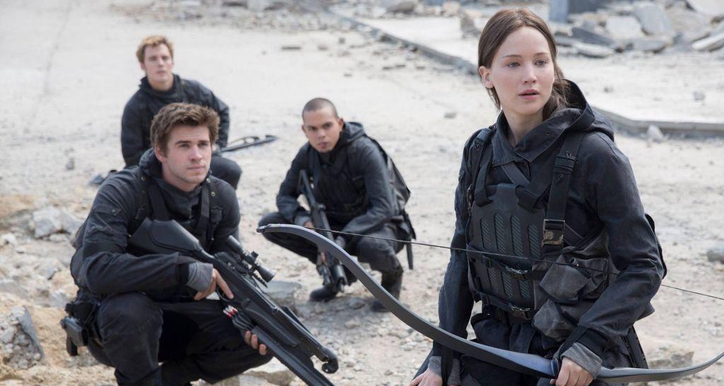 Jennifer Lawrence, Katniss Everdeen, The Hunger Games, The Hunger Games: Mockingjay Pt. 2
