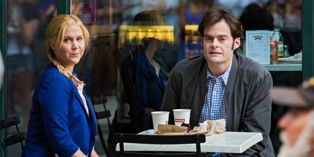 Trainwreck, Amy Schumer, Bill Hader