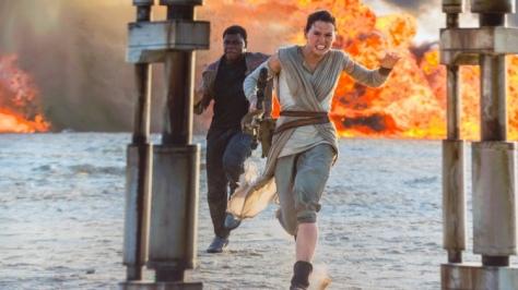 Star Wars Episode VII, Finn, Rey, John Boyega, Daisy Ridley