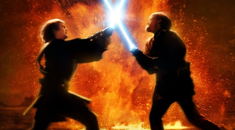 Image result for star wars 3 battle