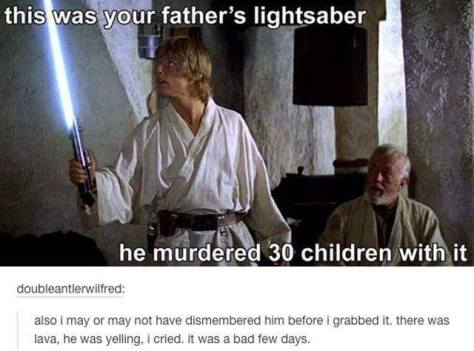Luke Skywalker, Obi-Wan Kenobi, Star Wars