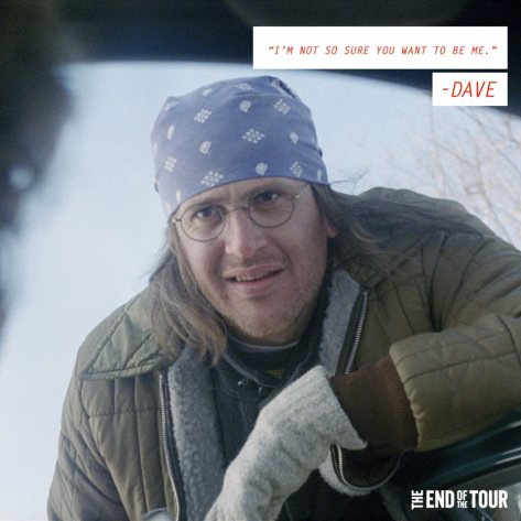 David Foster Wallace, Jason Segal, The End of the Tour