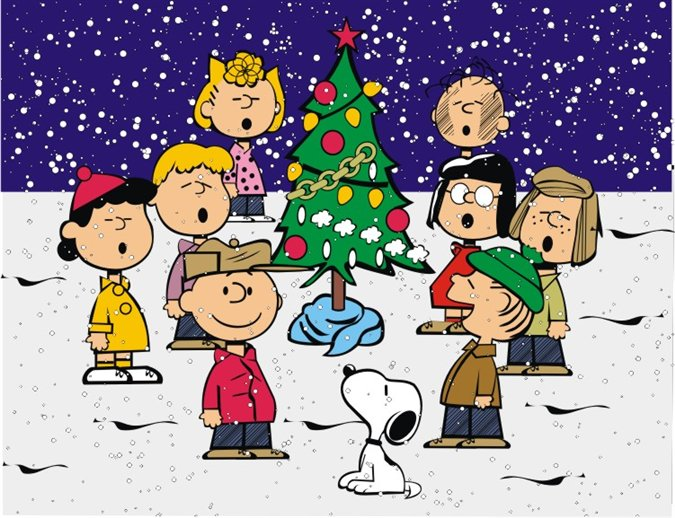 my favorite scene a charlie brown christmas 1965 the true meaning of christmas killing time - Charlie Brown Christmas Gif