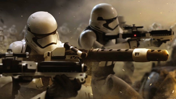 Star Wars, Star Wars Episode VII The Force Awakens, The First Order, Stormtroopers