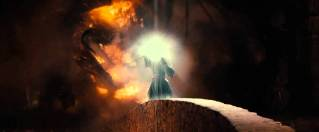 Balrog, Gandalf, Ian McKellan, The Lord of the Rings: The Fellowship of the Ring
