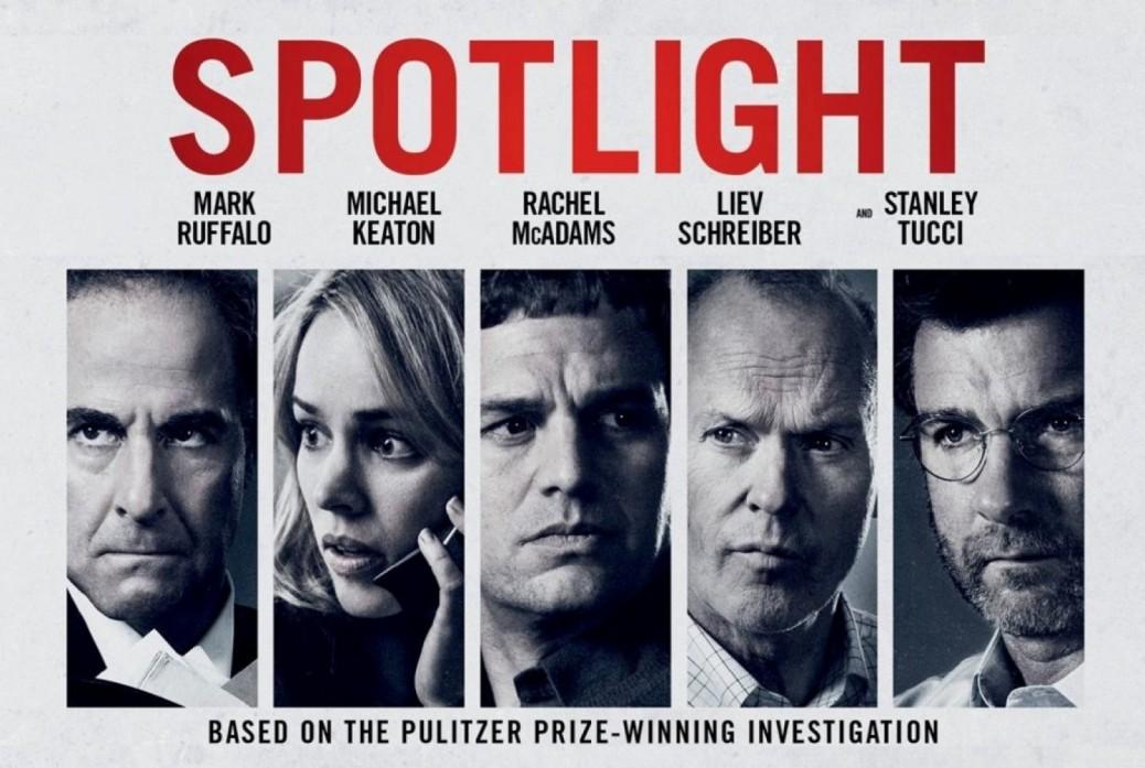 Spotlight, Michael Keaton, Rachel McAdams, Liev Schrieber, Mark Ruffalo, Stanley Tucci