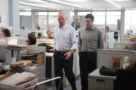 Spotlight, Michael Keaton, Mark Ruffalo