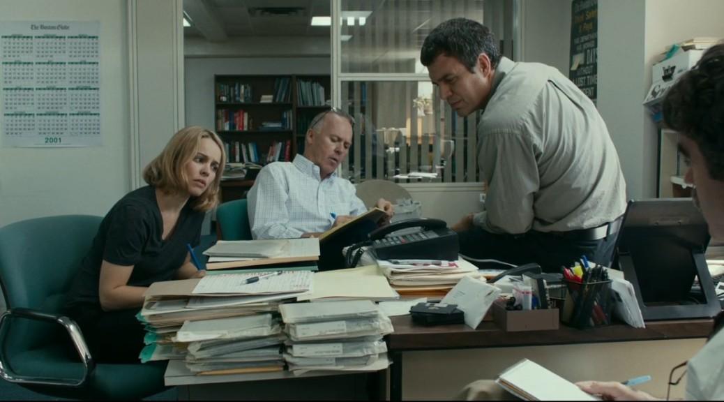 Spotlight, Michael Keaton, Rachel McAdams, Mark Ruffalo