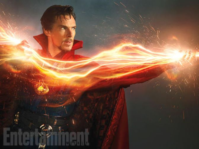 First Pictures of Benedict Cumberbatch as Doctor Strange!!!