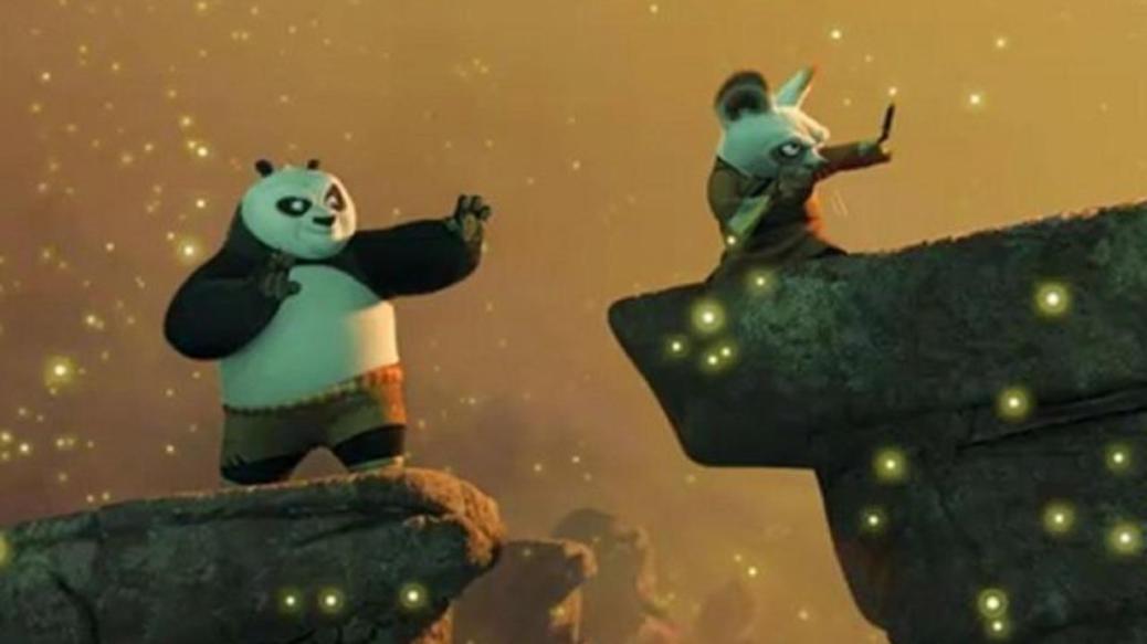 Kung Fu Panda, Jack Black, Dustin Hoffman