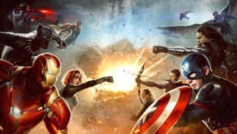 Captain America: Civil War, Captain America, Iron Man