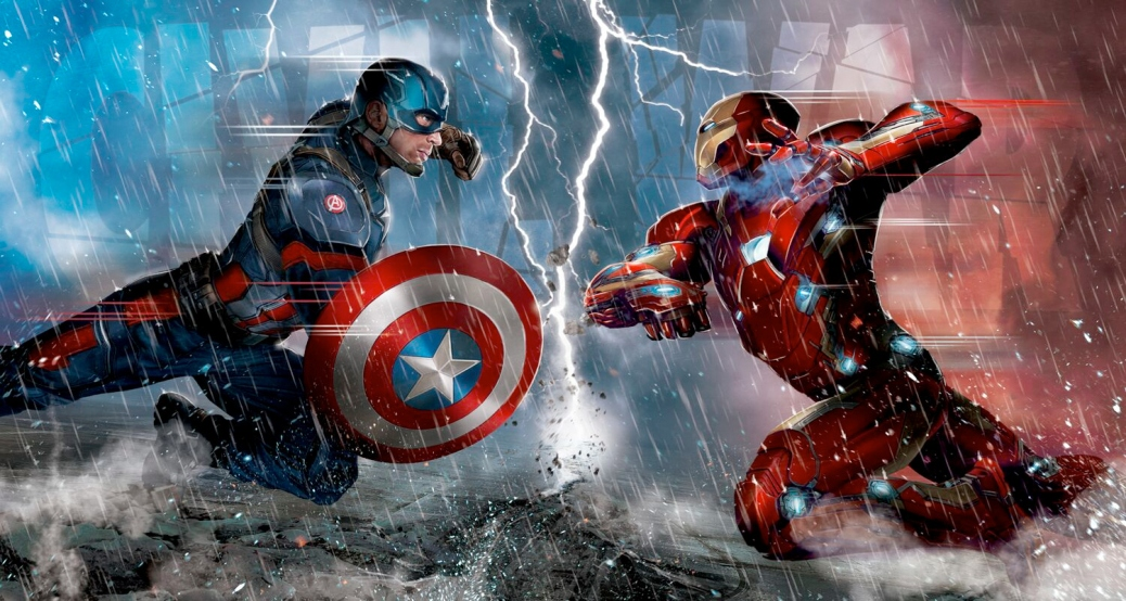 Captain America: Civil War, Captain America, Iron Man