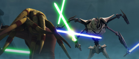 Star Wars: Clone Wars, General Grievous, Kit Fisto