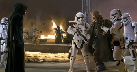 Star Wars, Star Wars Episode VII: The Force Awakens, Kylo Ren, The First Order, Lor San Tekka, Kylo Ren, Max Von Sydow, Adam Driver
