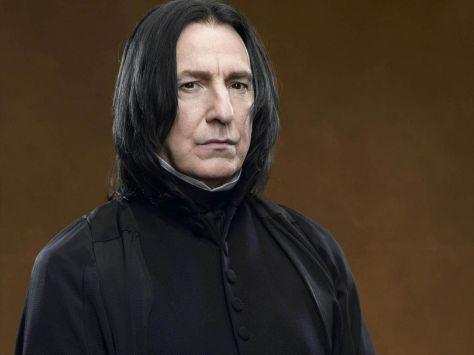 Harry Potter, Severus Snape, Alan Rickman
