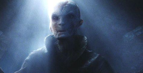 Star Wars, Star Wars Episode VII: The Force Awakened, Supreme Leader Snoke, Andy Serkis