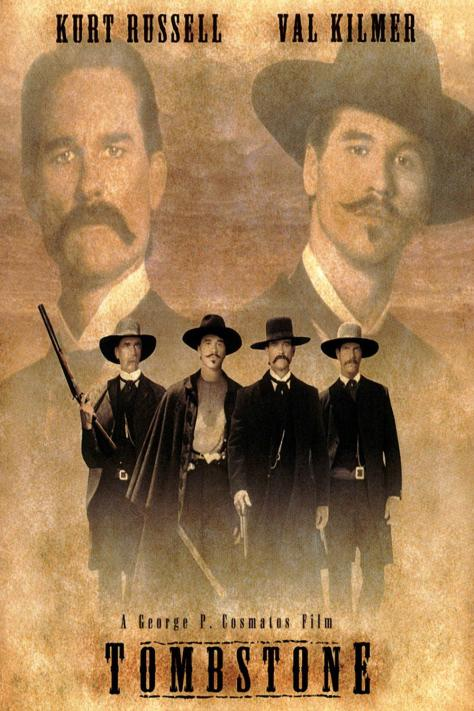 Tombstone, Val Kilmer, Kurt Russell
